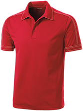 Pandora-Gilboa Elementary School Rockets Contrast Stitch Performance Polo