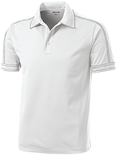 Lovell Middle School Mustangs Contrast Stitch Performance Polo