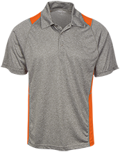 Crestwood Elementary School School Heather Moisture Wicking Polo