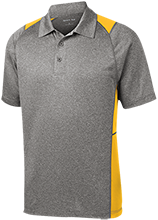 Jacaranda School School Heather Moisture Wicking Polo