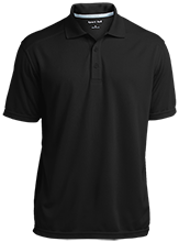 Adams Middle Panthers Micro-Mesh Three Buttoned Polo