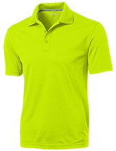 Mesa Middle School Panthers Micro-Mesh Three Buttoned Polo