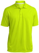 Madison Comprehensive High Rams Micro-Mesh Three Buttoned Polo