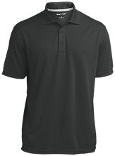 West Davidson High School Dragons Micro-Mesh Three Buttoned Polo