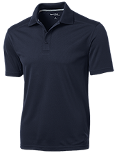Flanders Elementary School Rams Micro-Mesh Three Buttoned Polo