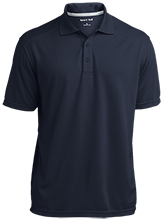 Earle B Wood Middle School Mustangs Micro-Mesh Three Buttoned Polo