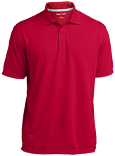 Vernon E Greer Middle School Mustangs Micro-Mesh Three Buttoned Polo