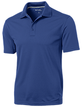 Park Terrace Elementary School Tigers Micro-Mesh Three Buttoned Polo