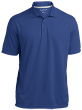 East Taylor Elementary School Blue Jays Micro-Mesh Three Buttoned Polo