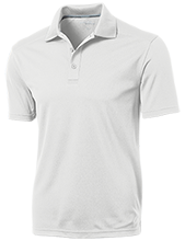 Lovell Middle School Mustangs Micro-Mesh Three Buttoned Polo