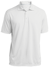 Mart Middle School Panthers Micro-Mesh Three Buttoned Polo