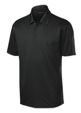 Westar Elementary School School Performance Textured Three-Button Polo