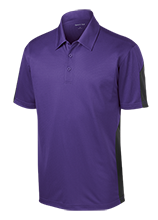 Crestwood Elementary School Cougars Performance Textured Three-Button Polo