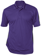 KIVA High School High School Performance Textured Three-Button Polo