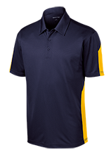 Alexander Robertson School Performance Textured Three-Button Polo