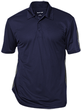 Team Granite Arch Rock Climbing Performance Textured Three-Button Polo