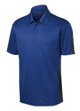 Muhlenberg Middle School Bartholomuhls Performance Textured Three-Button Polo