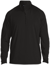 Laneville High School Yellowjackets Half Zip Raglan Performance Pullover