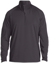 New Holland - Middletown School Mustangs Half Zip Raglan Performance Pullover