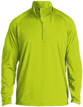 Softball Half Zip Raglan Performance Pullover