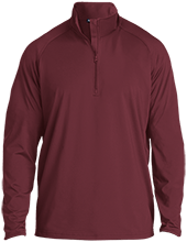 Shepherd Of The Valley Lutheran Half Zip Raglan Performance Pullover