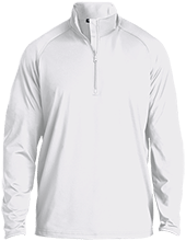 Rancho High Alumni Rams Half Zip Raglan Performance Pullover