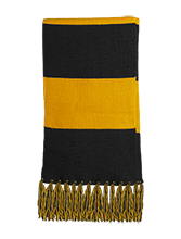 The Computer School Terrapins Fringed Scarf