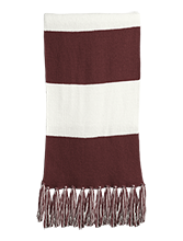 Johnson College Prep Pumas Fringed Scarf