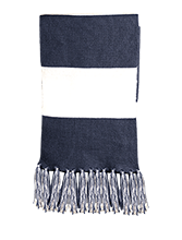 North Sunflower Athletics Fringed Scarf