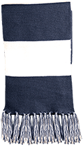 Lansing Eastern High School Quakers Fringed Scarf