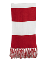 Meskwaki High School Warriors Fringed Scarf
