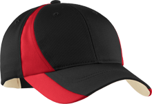 Saratoga School Bulldogs Mid-Profile Colorblock Hat
