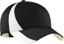 Wesley Elementary School Wildcats Mid-Profile Colorblock Hat