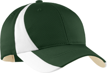 Montgomery High School Cougars Mid-Profile Colorblock Hat