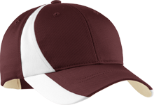 Tates Creek High School Commodores Mid-Profile Colorblock Hat