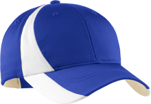 Omaha North High School Vikings Mid-Profile Colorblock Hat