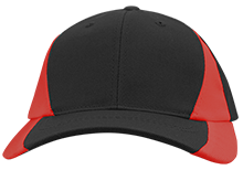 Granger Christian School Scarlet Knights Mid-Profile Colorblock Hat