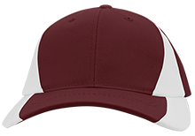 Silver Oak Academy Rams Mid-Profile Colorblock Hat