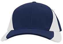 The Heritage High School Hawks Mid-Profile Colorblock Hat