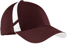 Lansingburgh High School Knights Dry Zone Mesh Inset Cap