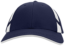 Burgettstown  High School Blue Devils Dry Zone Mesh Inset Cap