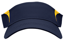 Lansing Eastern High School Quakers Dry Zone Colorblock Visor