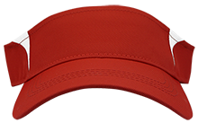 Clinton Prairie High School Gophers Dry Zone Colorblock Visor