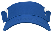 Brethren Elementary School Eagles Dry Zone Colorblock Visor