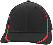 Clinton Prairie High School Gophers Flexfit Colorblock Cap