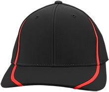 Meskwaki High School Warriors Flexfit Colorblock Cap