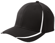 Clarinda Academy Eagles Flexfit Colorblock Cap
