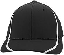 Wesley Elementary School Wildcats Flexfit Colorblock Cap