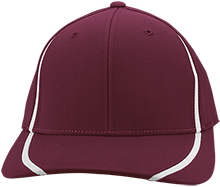 Saint John The Baptist Academy Vikings Flexfit Colorblock Cap