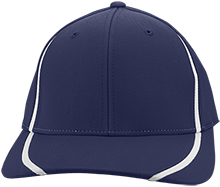 Meade Park Elementary School Mustangs Flexfit Colorblock Cap